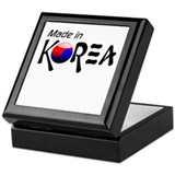Made in Korea Keepsake Box