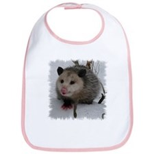 Snow Possum Bib