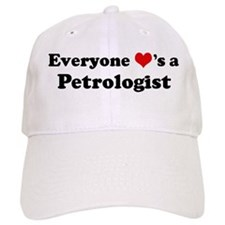 Loves a Petrologist Baseball Cap
