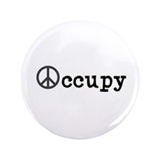 "Peaceful Occupy 3.5"" Button"