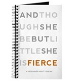 She is Fierce - Block Journal