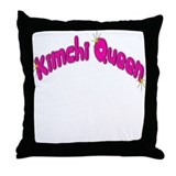 Kimchi Queen Throw Pillow