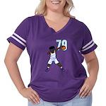 Fort Pierce Girl Organic Kids T-Shirt (dark)