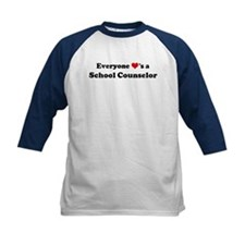 Loves a School Counselor Tee