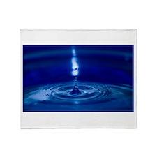 Drop of Water Throw Blanket