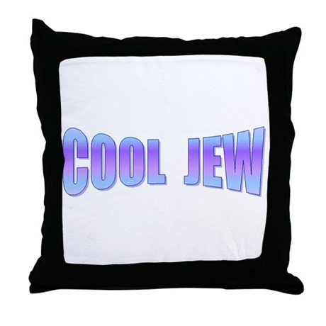 COOL JEW Throw Pillow