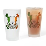 O'Sullivan Skull Pint Glass
