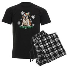 Holiday Bulldog pajamas