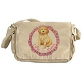 Golden Valentine Messenger Bag