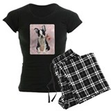 Boston Terrier Rose pajamas