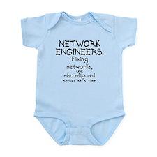 Network Engineers Infant Bodysuit