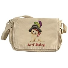 Bichon Pirate Messenger Bag