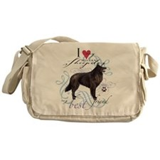 Belgian Sheepdog Messenger Bag