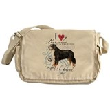 Bernese Mountain Dog Messenger Bag