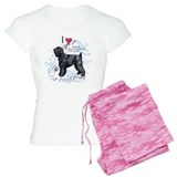 Black Russian Terrier pajamas