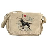 Curly-Coated Retriever Messenger Bag