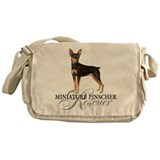 Min Pin Rescue Messenger Bag