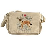 Norwegian Lundehund Messenger Bag