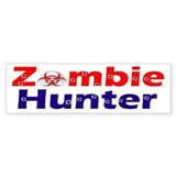 zombie hunter 2 Bumper Sticker