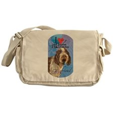 Spinone Italiano Messenger Bag