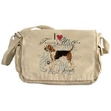 Treeing Walker Messenger Bag