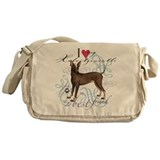 Xoloitzcuintli Messenger Bag