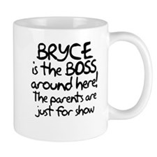 Bryce is the Boss Mug