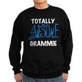 Blue Awesome Grammie Sweatshirt