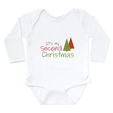 Second Christmas Onesie Romper Suit