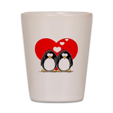 Loving Couple Shot Glass