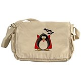 Dracula Penguin Messenger Bag