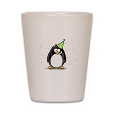 Party Penguin Shot Glass