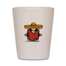 Fiesta Penguin Shot Glass