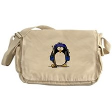 Hockey Penguin Messenger Bag
