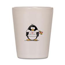 Maryland Penguin Shot Glass