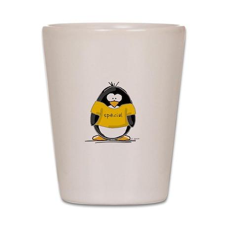 Special penguin Shot Glass