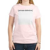 [private defective] Women's Pink T-Shirt