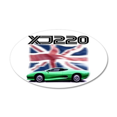 XJ220 22x14 Oval Wall Peel
