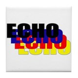 Echo Tile Coaster