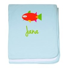 Jana is a Big Fish baby blanket