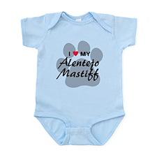 Love My Alentejo Mastiff Infant Bodysuit