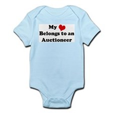 Heart Belongs: Auctioneer Infant Creeper