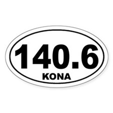 140.6 ironman kona sticker Decal