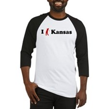 I Golf Kansas Baseball Jersey