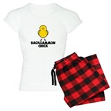 Backgammon Chick Pajamas
