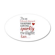 Vampire-loving sparkly twilight fan 38.5 x 24.5 Ov