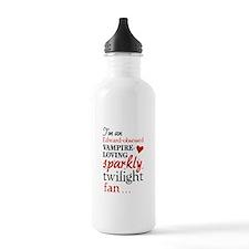 Vampire-loving sparkly twilight fan Water Bottle