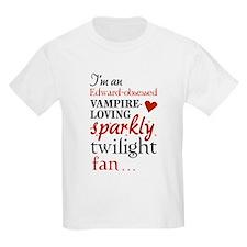 Vampire-loving sparkly twilight fan T-Shirt