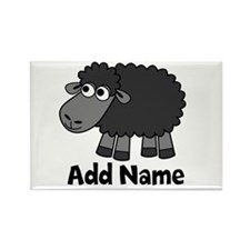 Add Name - Farm Animals Rectangle Magnet