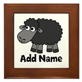 Add Name - Farm Animals Framed Tile